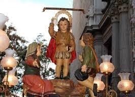 Imagen de Sant Vicent de niño